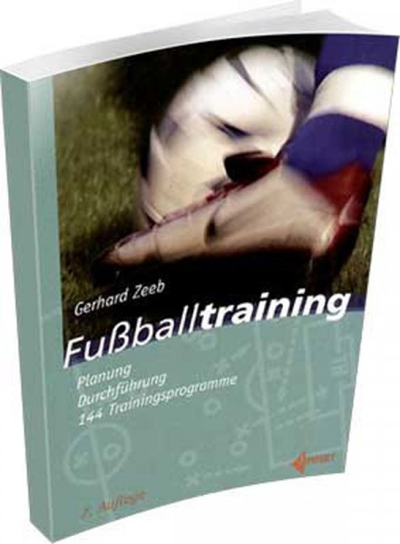"Buch: Gerhard Zeeb ""FUSSBALLTRAINING"""