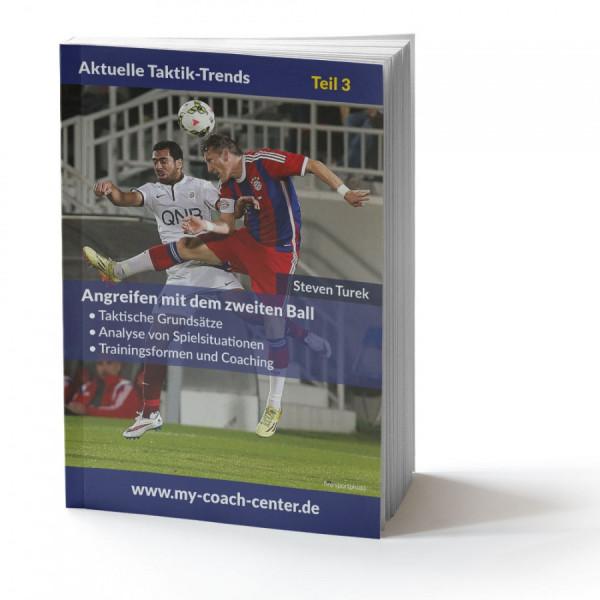 Buch: Steven Turek »Angreifen mit dem zweiten Ball«