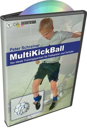"DVD Peter Schreiner ""MULTIKICKBALL"""