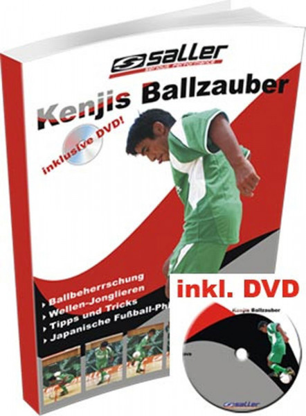 Buch/DVD: Kenji/Saller »KENJIS BALLZAUBER« DVD mit Begleitbuch