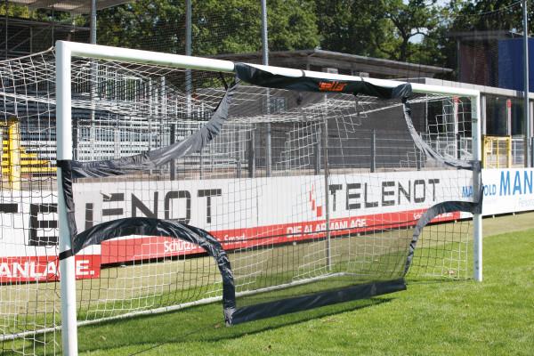 saller Torschussübungswand Junior – Fußballtor 5,15 x 2,05m