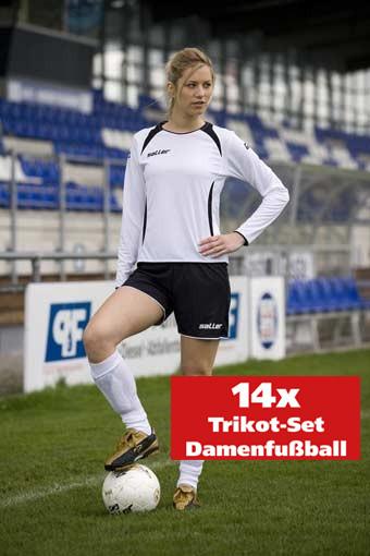 14er-Trikot-Set Damenfußball »sallerVenus« langarm