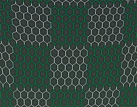 Tornetz mit Schachbrettmuster wabenförmige Maschen