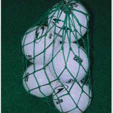Ballnetz mit Metallringen
