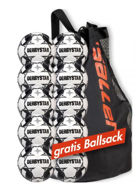 Derbystar Ballpaket »Apus TT V20« mit Ballsack