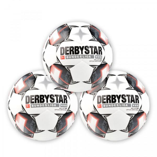 Derbystar Spielball »Bundesliga Brillant APS 2018« Paket