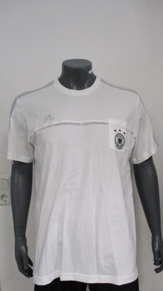 Adidas DFB T-Shirt mit Brusttasche