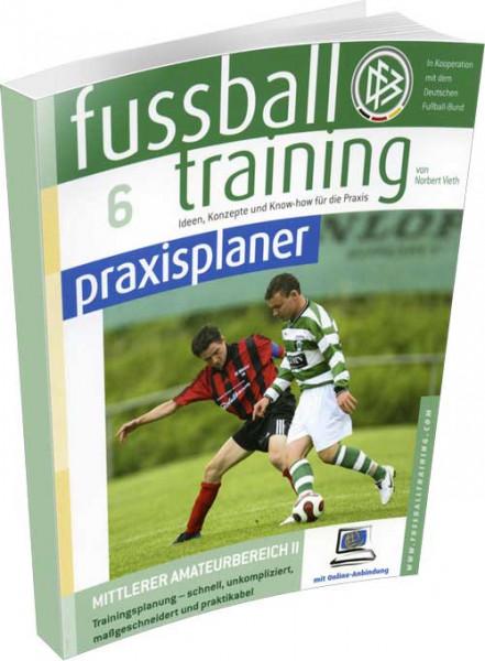 """Buch: Norbert Vieth """"Fussball Training Praxisplaner 6"""""""