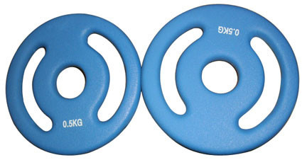 Gewichtscheibenpaar (2 x 0,5 kg)