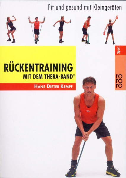 "Buch: Dieter Kempf ""Rückentraining mit dem Thera-Band"""