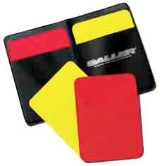 Schiri-Kartenset