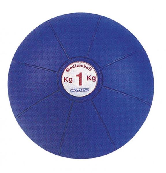 Medizinball 1kg, 17 cm Durchmesser