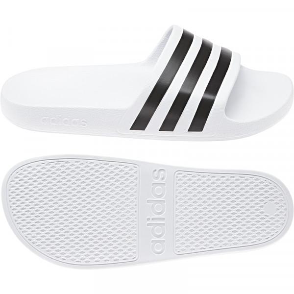 »Adilette Aqua Slipper White«