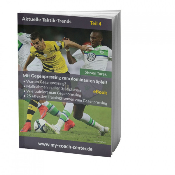 Buch: Steven Turek »Mit Gegenpressing zum dominanten Spiel«