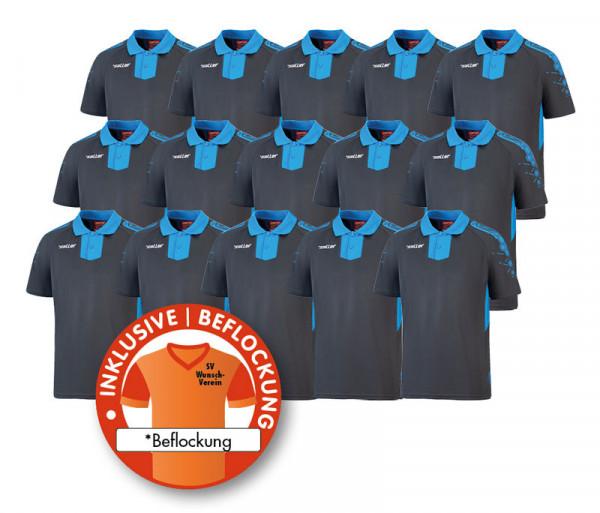 15x Poloshirt »sallerCore 2.0«