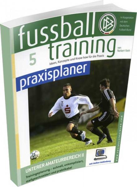 """Buch: Norbert Vieth """"Fussball Training Praxisplaner 5"""""""