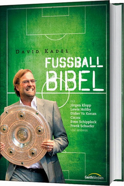 "Buch: David Kadel ""Die Fußballbibel"""