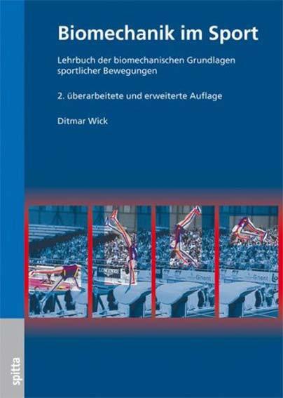 "Buch: Ditmar Wick ""Biomechanik im Sport"""