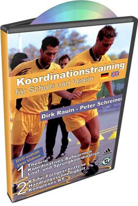 """DVD Peter Schreiner """"KOORDINATIONSTRAINING FÜR SCHULE + VEREIN"""""""