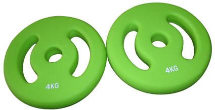 Gewichtscheibenpaar (2 x 4 kg)