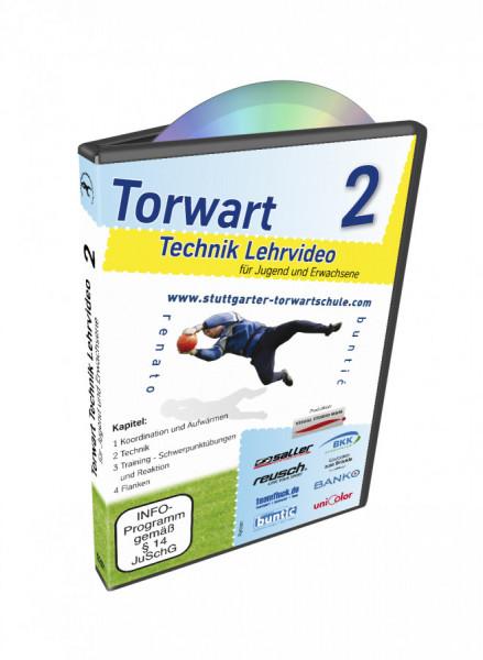 DVD Torwarttechnik Lehrvideo Teil 2