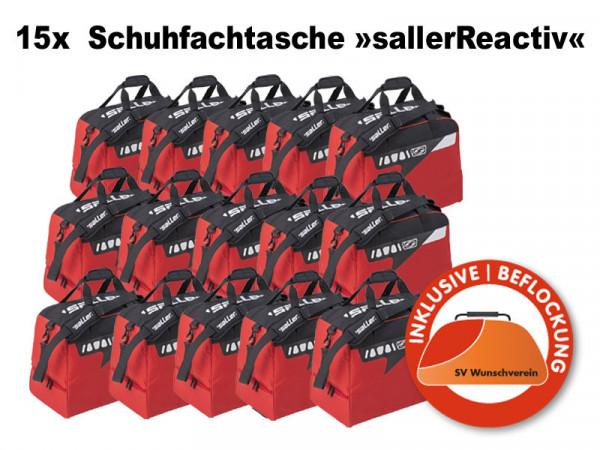 15x Schuhfachtasche »sallerReactiv« Sponsorangebot