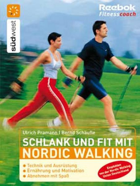 Buch: Pramann/Schäufle »SCHLANK u. FIT MIT NORDIC WALKING«