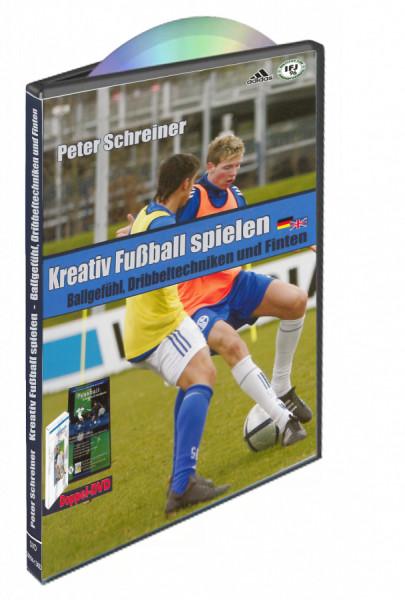 "DVD Peter Schreiner ""KREATIV FUSSBALL SPIELEN"""
