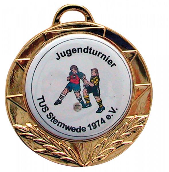 Saller Medaille Individuell gold (ab 25 Stück)