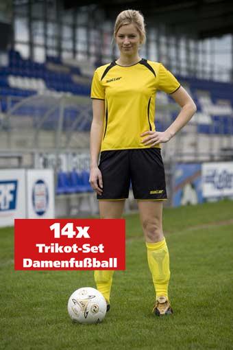14er-Trikot-Set Damenfußball »sallerVenus« kurzarm