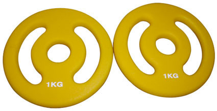 Gewichtscheibenpaar (2 x 1 kg)