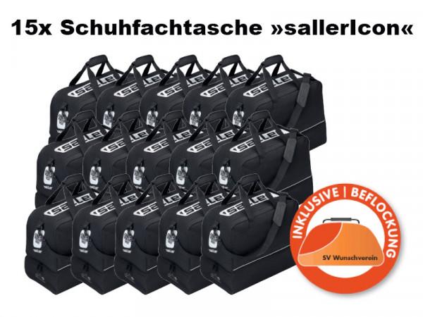 15x Schuhfachtasche »sallerIcon« Sponsorangebot