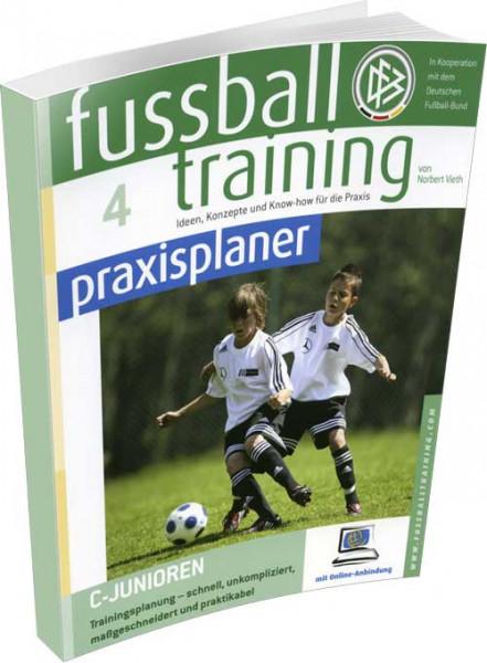 """Buch: Norbert Vieth """"Fussball Training Praxisplaner 4"""""""