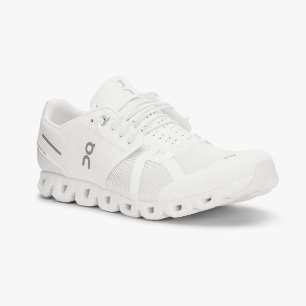 Damen Laufschuh Cloud All White