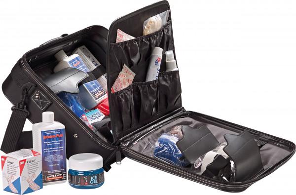 Sanitätskoffer gefüllt