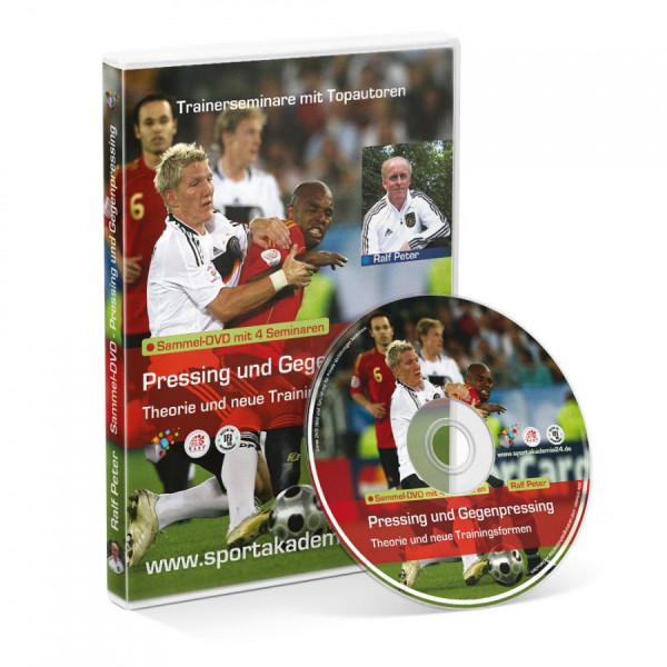 Seminar-DVD: »Pressing und Gegenpressing (4 Seminare)«