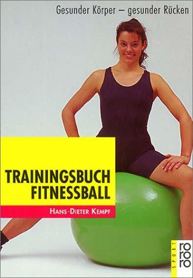 "Buch: Dieter Kempf ""Trainingsbuch Fitnessball"""