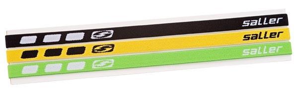 saller Haarband - Set schwarz/gelb/grün