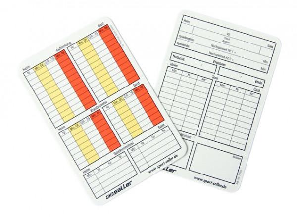 my Referee Spielnotizkarten Fußball