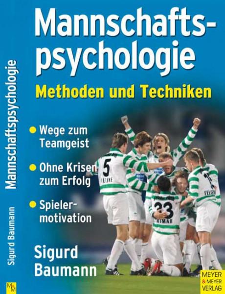 Buch: Sigurd Baumann »MANNSCHAFTS-PSYCHOLOGIE«